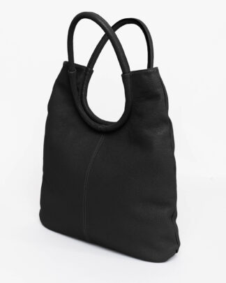 peonia-shopper-borsa-vera-pelle-italia-handmade-artigianale-real-leather-italy-black