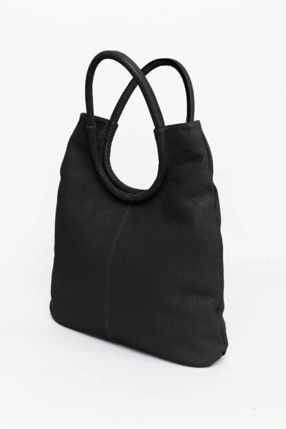 peonia-shopper-borsa-vera-pelle-italia-handmade-artigianale-real-leather-italy-black